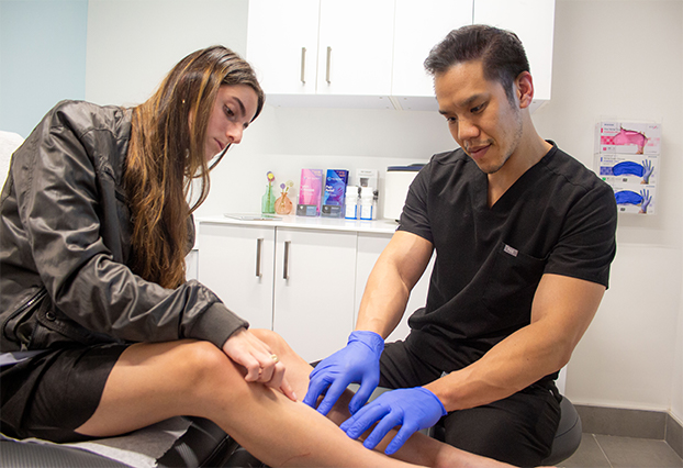 You can find Dr. Calvin Jung, an exceptionally skilled varicose vein doctor in TX on Richmond Ave., Houston. This article introduces you to the vein doctor and his customized treatment plan.
